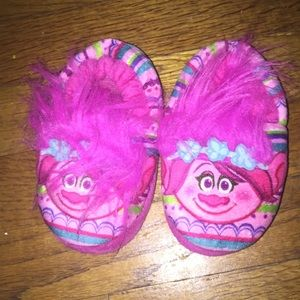 Poppy the troll slippers